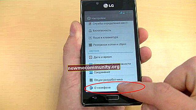 Bagaimana mengemas kini versi Android di telefon / telefon pintar?