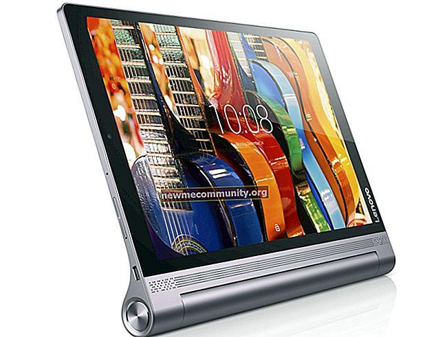 Tablet dengan projektor: Lenovo Yoga Tablet 3 PRO LTE