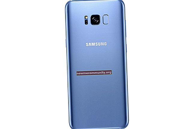 Apa perbedaan antara Samsung Galaxy S8 dan S8 +?