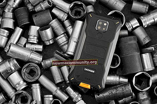 Smartphone DOOGEE: katalog dengan harga dan foto