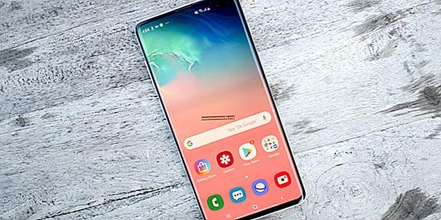 Samsung Galaxy S10 + (S10 Plus): spesifikasi