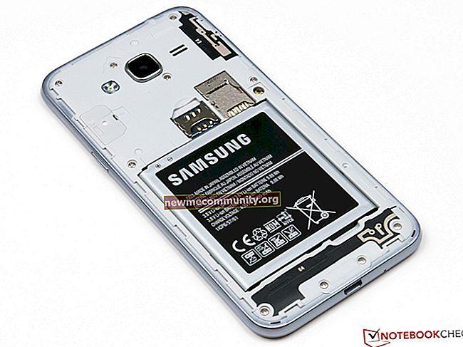 Bagaimana cara memasukkan kad SIM ke dalam telefon bimbit Samsung Galaxy?