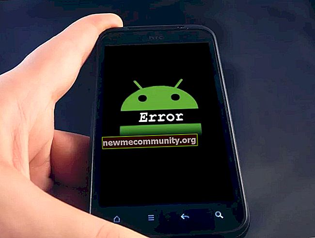 Terjadi kesalahan di aplikasi WeQR. Apa yang harus dilakukan?
