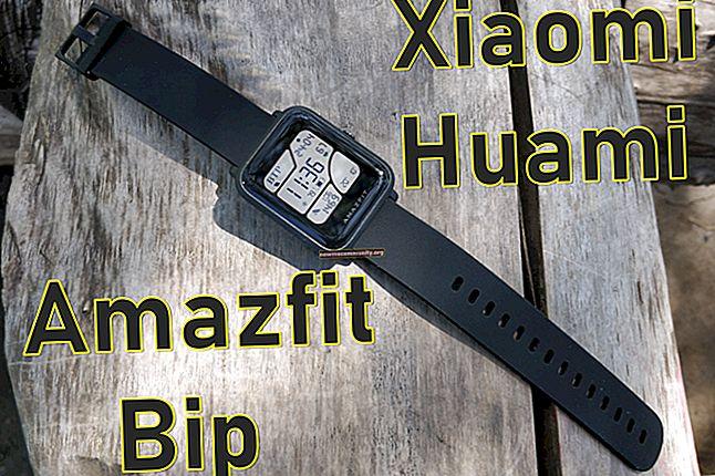 Jam tangan pintar Xiaomi Amazfit: model terbaik