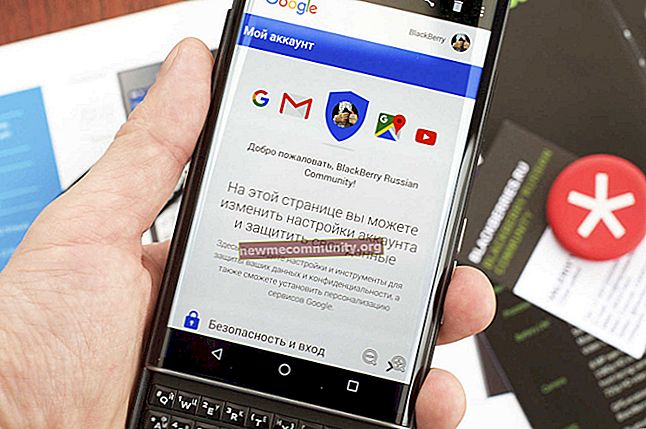 Bagaimana cara log masuk ke akaun Google di telefon Android?