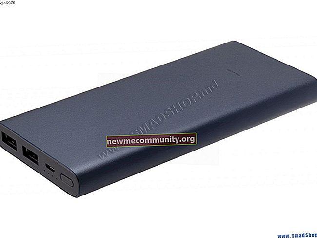 Baterai eksternal Xiaomi Mi Power Bank