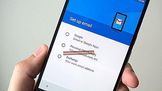 Bagaimana cara keluar dari Gmail di ponsel Android?