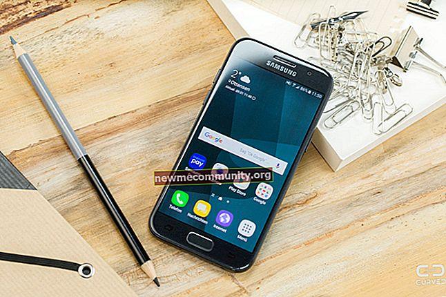 Smartphone dengan diagonal layar 4,5-4,6 inci 2017