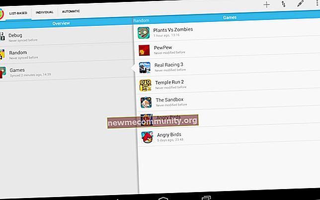Apakah cache permainan dan aplikasi di Android?