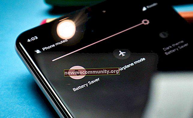 Mod penjimatan kuasa pada telefon pintar dan telefon Android
