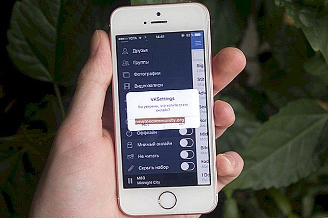 Bagaimana cara menghapus halaman di VK dari telefon Android atau iPhone?