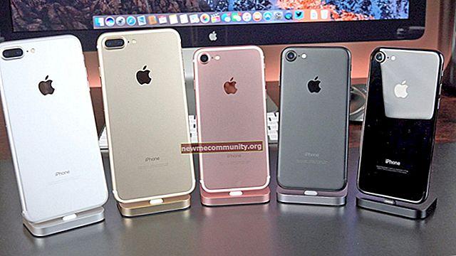 Apa perbedaan iPhone 7 dari iPhone 7 Plus?