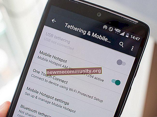Bagaimana cara mengaktifkan pemindahan data di Android?