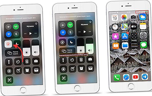 Bagaimana cara menghidupkan dan mematikan layar putar otomatis di iPhone?