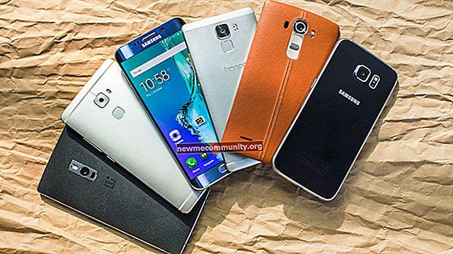 Telefon pintar terbaik di bawah 20,000 rubel pada tahun 2017