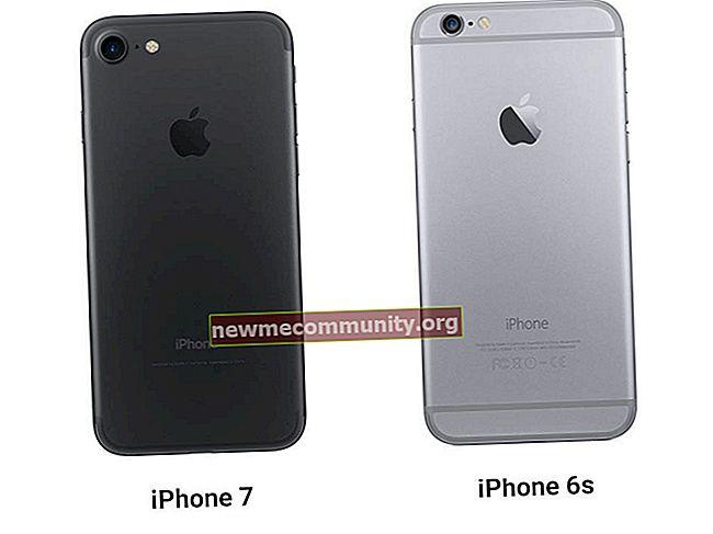 Apakah perbezaan antara iPhone 6s dan iPhone 7?