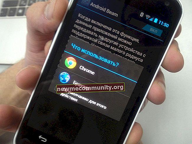 Android Beam: apa itu dan bagaimana cara kerjanya?