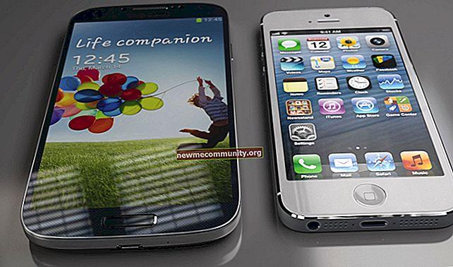 Apakah perbezaan antara telefon pintar dan iPhone dan mana yang lebih baik?
