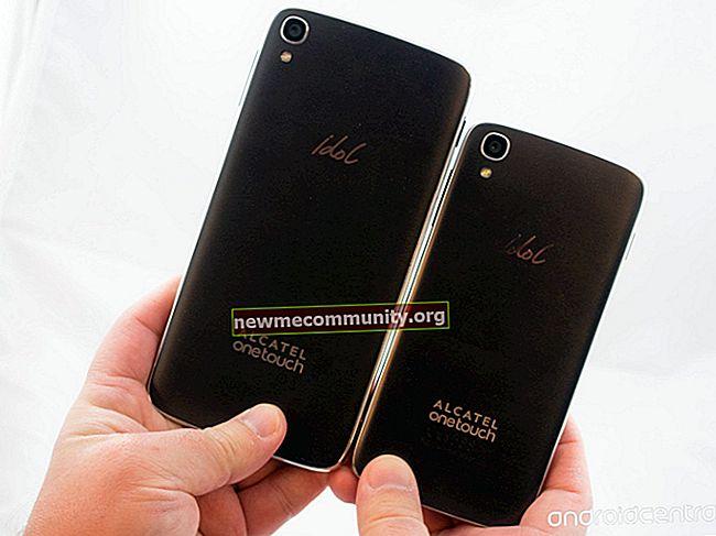 Ponsel cerdas Alcatel: semua model dengan harga, spesifikasi, dan foto