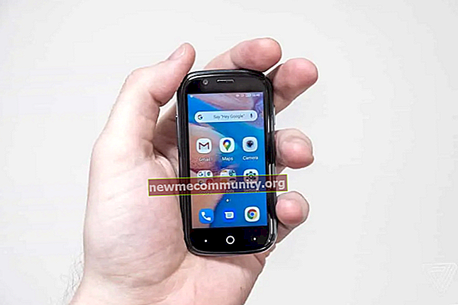 Smartphone Android terkecil